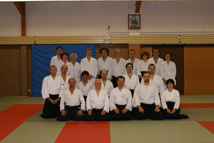 Photo de groupe du 13/10/2007