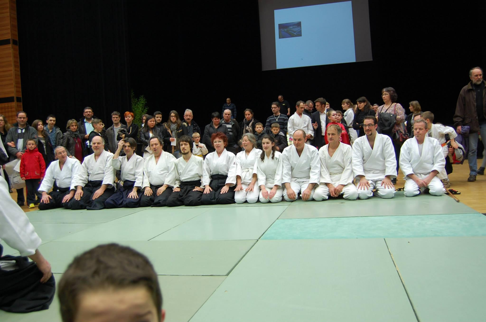 Démonstration d'Aïkido à l'Arsenal, le vendredi 3 mars 2014