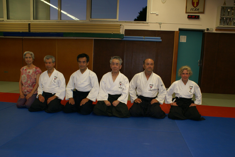 En juillet 2019, une délégation japonaise du YOUSEIKAN AIKIDO accompagnait NOGUCHI Senseï (7ème DAN) pour un cours à TOUL